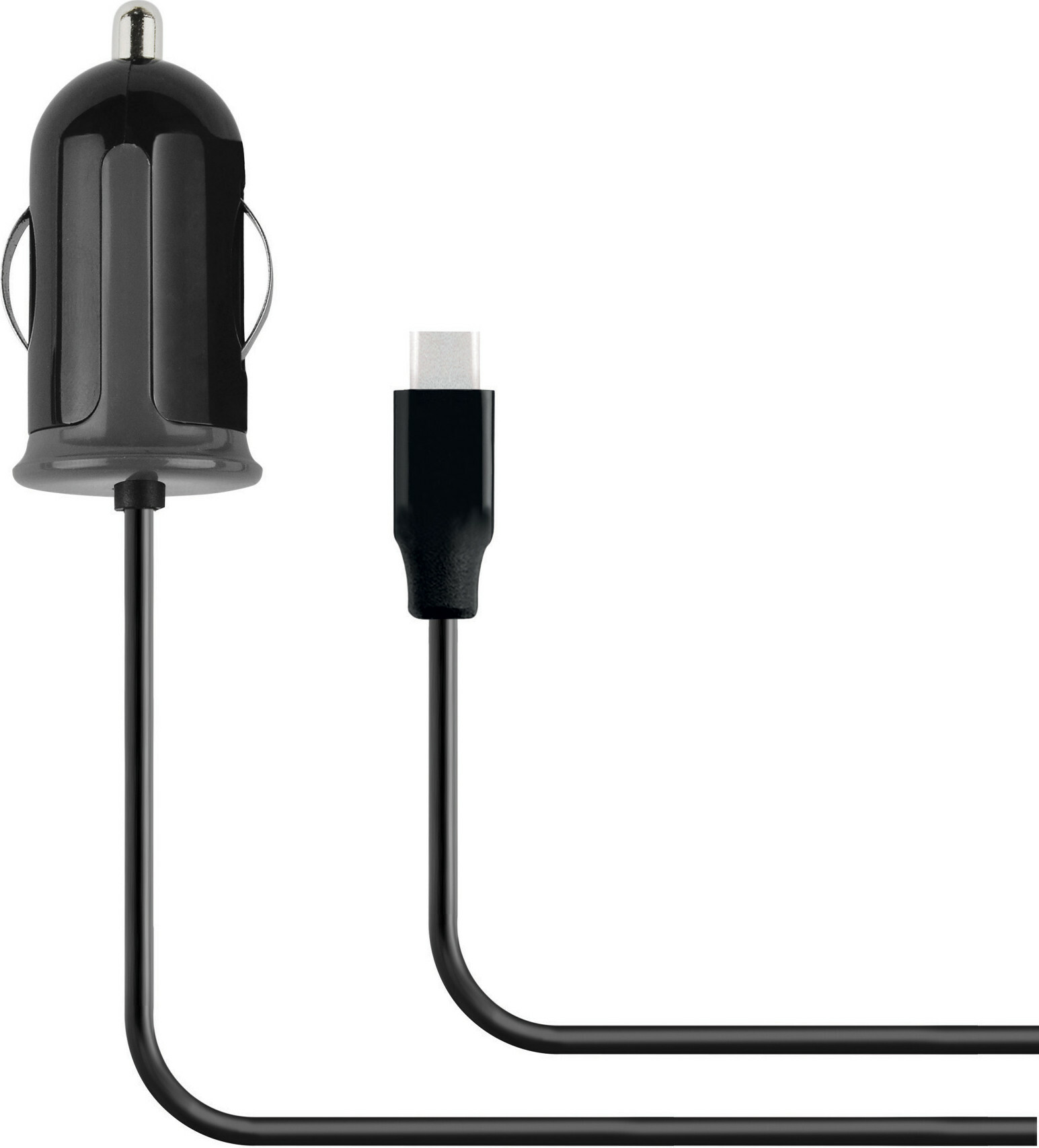 Mobiparts Car Charger USB-C 2.4A Black