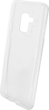 Mobiparts Essential TPU Case Samsung Galaxy A8 (2018) Transparent