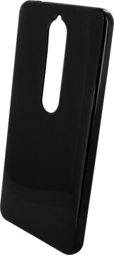Mobiparts Essential TPU Case Nokia 6 (2018) Black