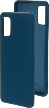 Mobiparts Silicone Cover Samsung Galaxy A41 (2020) Blueberry Blue