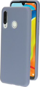 Mobiparts Silicone Cover Huawei P30 Lite Royal Grey