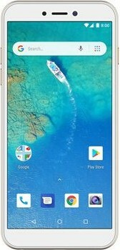 General Mobile Android One GM 8 Go White Gold