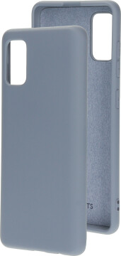 Mobiparts Silicone Cover Samsung Galaxy A41 (2020) Royal Grey