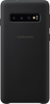 Samsung Galaxy S10 Silicone Cover Black