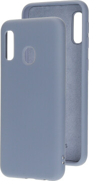Mobiparts Silicone Cover Samsung Galaxy A20e (2019) Royal Grey