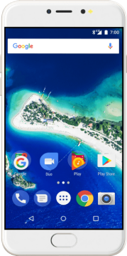 General Mobile Android One GM 6 32GB Dual SIM - White Gold