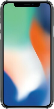 Apple Refurbished iPhone X 256GB Silver