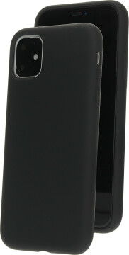 Mobiparts Silicone Cover Apple iPhone 11 Black