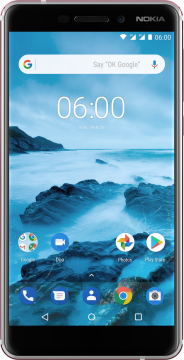 Nokia 6.1 White Iron