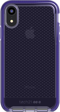 Tech21 Evo Check Apple iPhone XR Ultra Violet