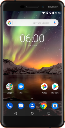 Nokia 6.1 Black Copper