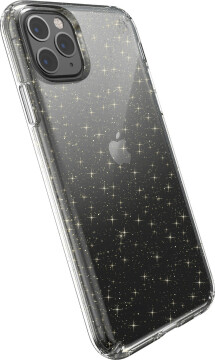 Speck Presidio Clear Glitter Apple iPhone 11 Pro Max Clear/ Gold