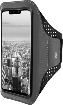 Mobiparts Comfort Fit Sport Armband Huawei Mate 20 Lite Black