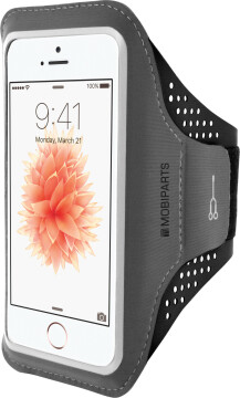 Mobiparts Comfort Fit Sport Armband Apple iPhone 5/5S/SE Black