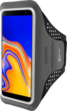 Mobiparts Comfort Fit Sport Armband Samsung Galaxy J4 Plus (2018) Black