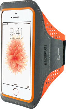 Mobiparts Comfort Fit Sport Armband Apple iPhone 5/5S/SE Neon Orange
