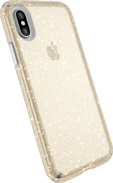 Speck Presidio Clear + Glitter Apple iPhone X/XS Clear/Gold Glitter