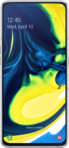Samsung Galaxy A80 128GB Ghost White