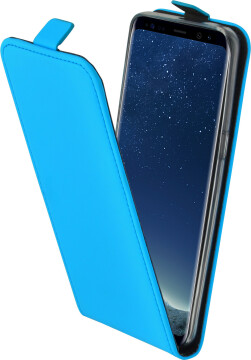 Mobiparts Premium Flip TPU Case Samsung Galaxy S8 Light Blue