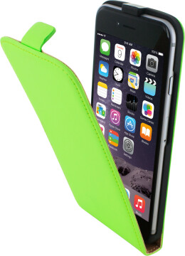 Mobiparts Premium Flip Case Apple iPhone 6/6S Green