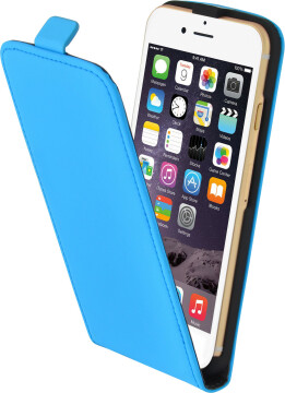 Mobiparts Premium Flip Case Apple iPhone 6/6S Light Blue
