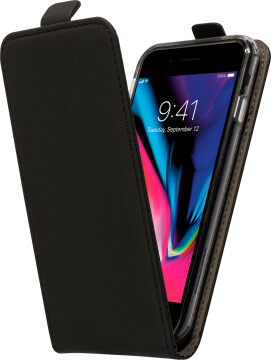 Mobiparts Premium Flip TPU Case Apple iPhone 7/8 Black