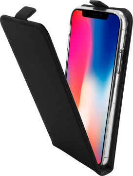 Mobiparts Premium Flip TPU Case Apple iPhone X/XS Black