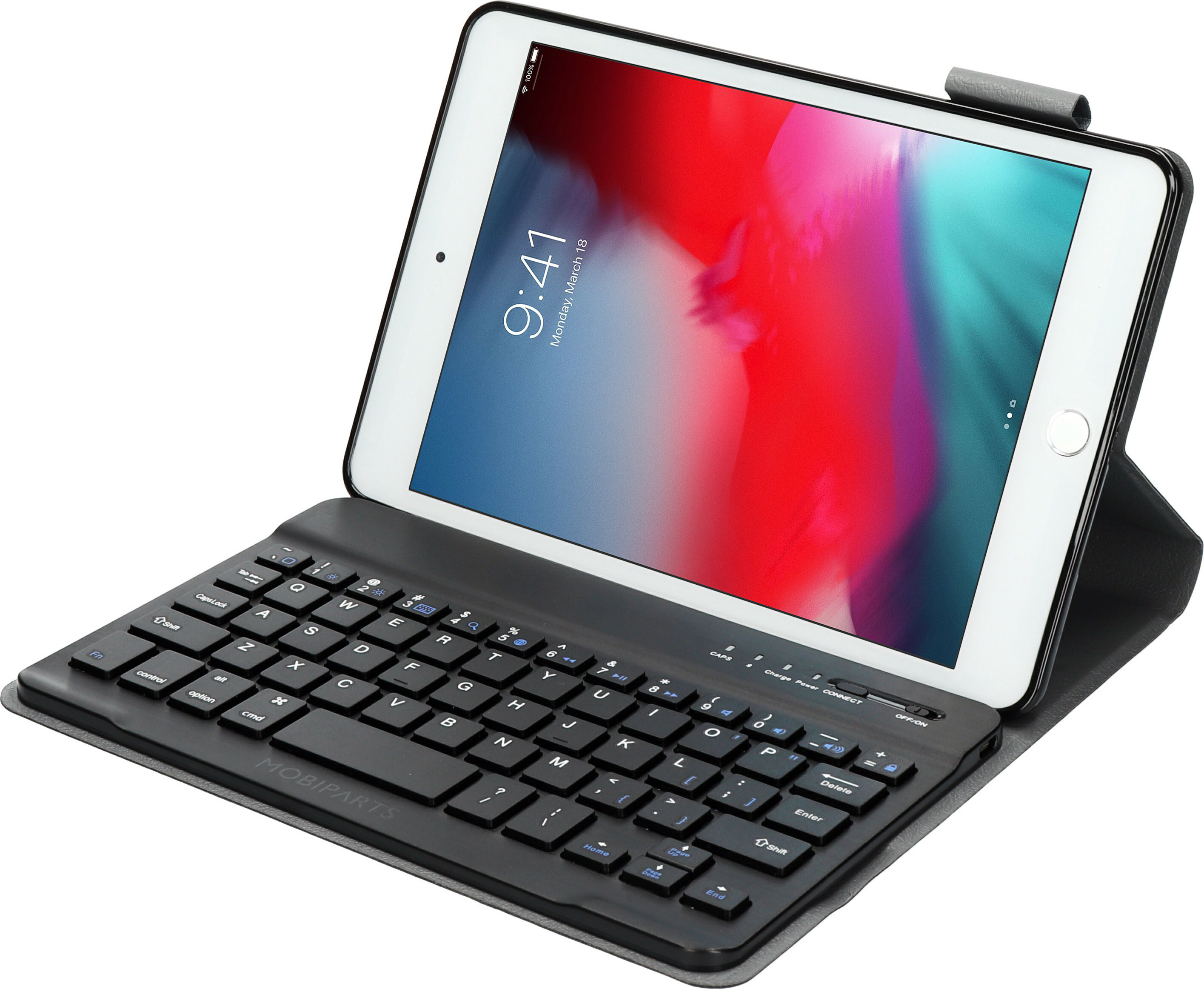 Mobiparts Bluetooth Keyboard Case Apple iPad Mini (2019) Black