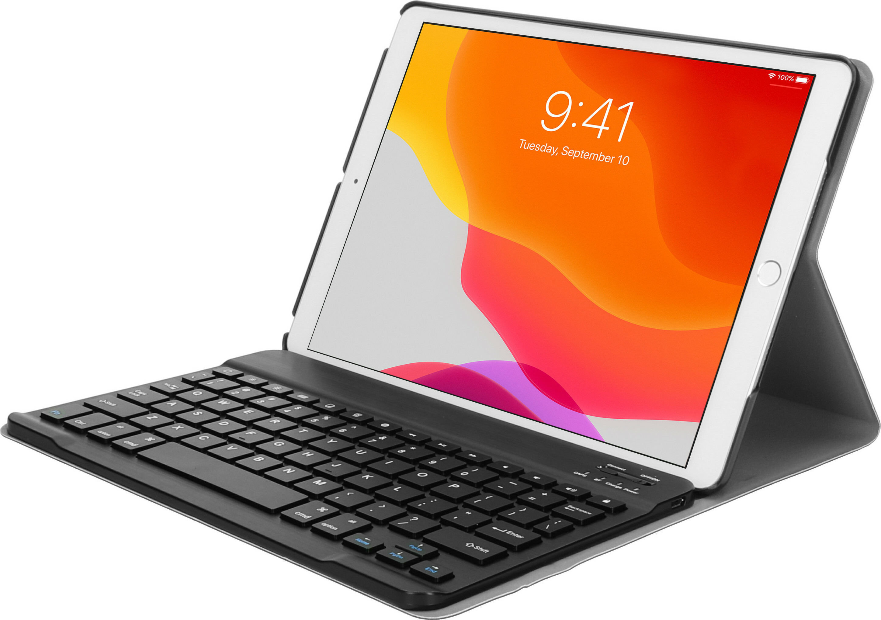 Mobiparts Bluetooth Keyboard Case Apple iPad 10.2 (2019/2020) Black