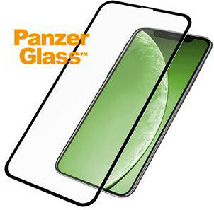 PanzerGlass Apple iPhone XR/iPhone 11 - Black CF Super+ Glass