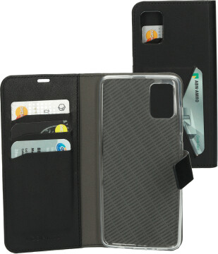 Mobiparts Classic Wallet Case Samsung Galaxy A51 (2020) Black