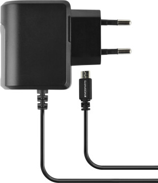 Mobiparts Wall Charger Micro USB 2.4A Black