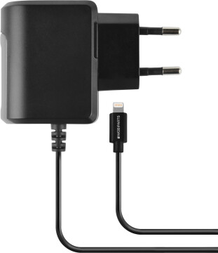 Mobiparts Wall Charger Apple Lightning 2.4A Black