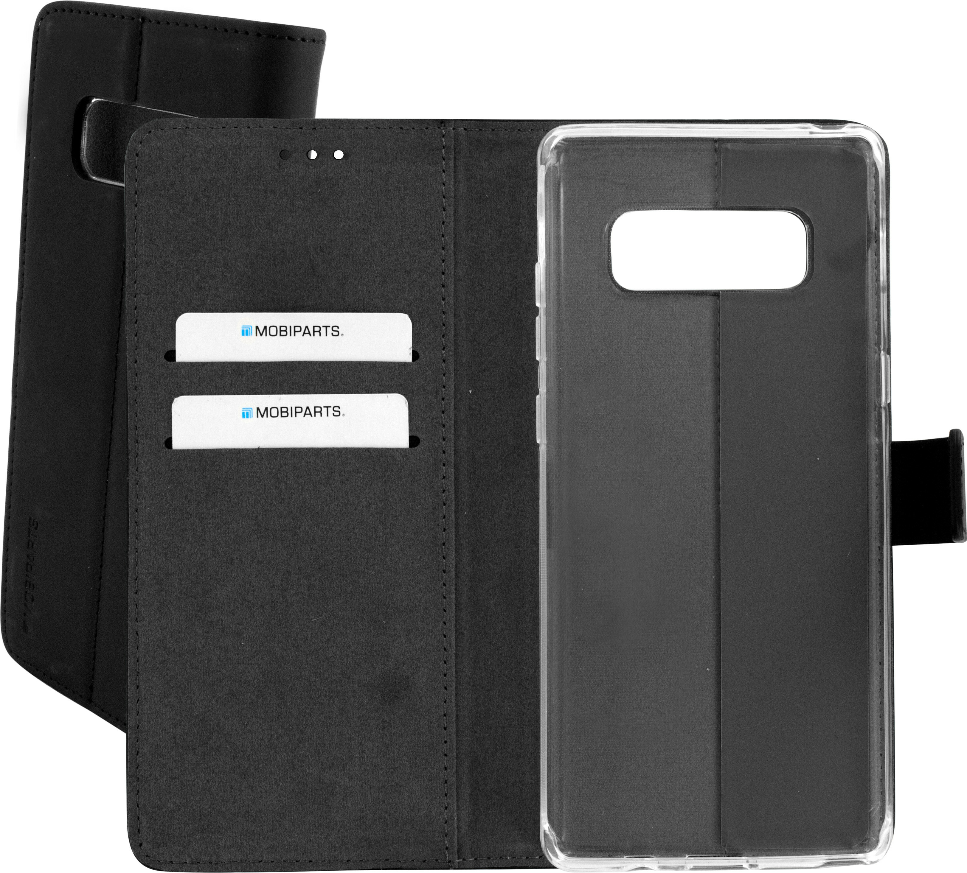 Mobiparts Premium Wallet TPU Case Samsung Galaxy Note 8 Black