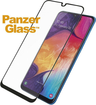 PanzerGlass Samsung Galaxy A30/A30s/A50/A50s Black Case Friendly Super+ Glass