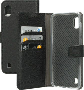 Mobiparts Saffiano Wallet Case Samsung Galaxy A10 (2019) Black