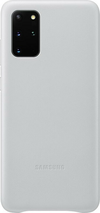 Samsung Galaxy S20 Plus Leather Cover Light Gray