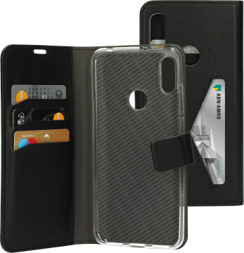 Mobiparts Classic Wallet Case Huawei Y6 (2019) Black