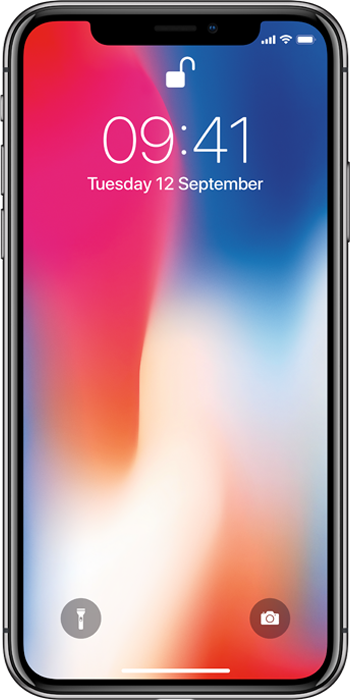 Apple Refurbished A-grade iPhone X 64GB Space Grey