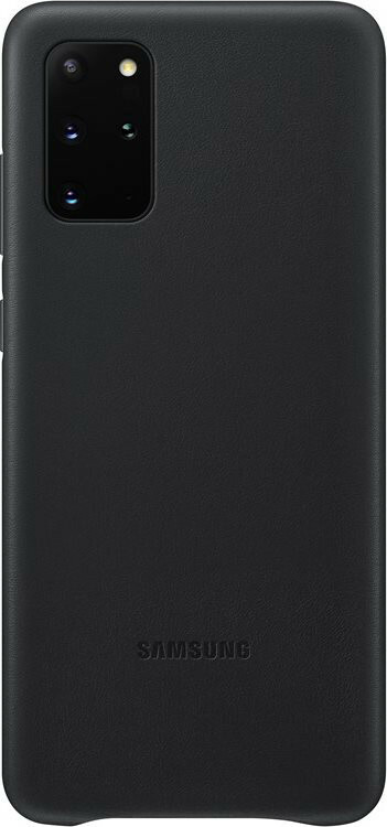 Samsung Galaxy S20 Plus Leather Cover Black