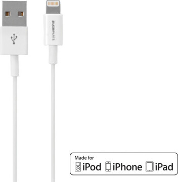 Mobiparts Apple Lightning to USB Cable 2.4A 3m White
