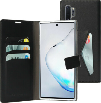 Mobiparts Classic Wallet Case Samsung Galaxy Note 10 Plus Black