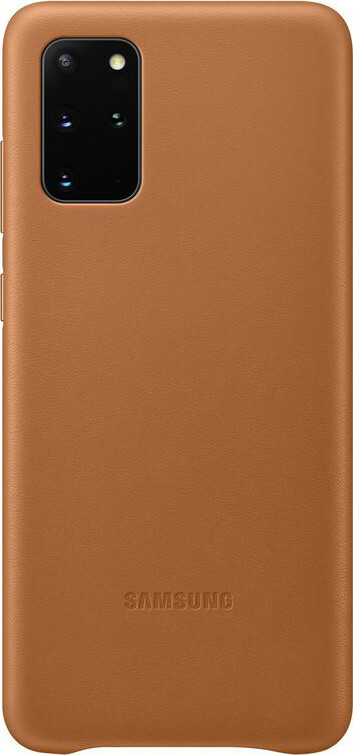 Samsung Galaxy S20 Plus Leather Cover Brown