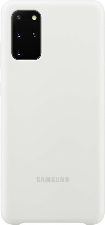 Samsung Galaxy S20 Plus Silicone Cover White