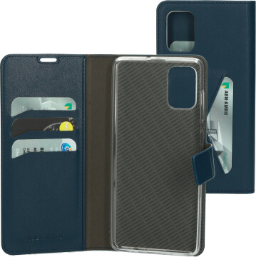 Mobiparts Classic Wallet Case Samsung Galaxy A71 (2020) Blue