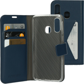 Mobiparts Classic Wallet Case Samsung Galaxy A50 (2019) Blue