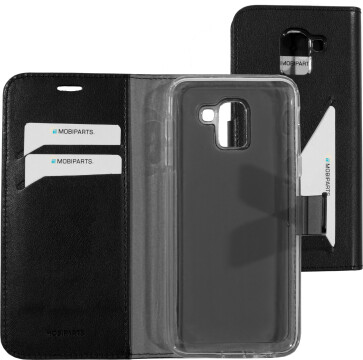 Mobiparts Classic Wallet Case Samsung Galaxy J6 (2018) Black