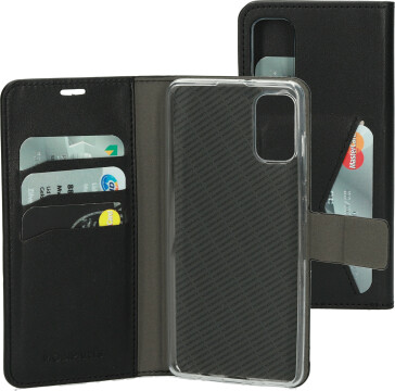 Mobiparts Classic Wallet Case Samsung Galaxy A41 (2020) Black