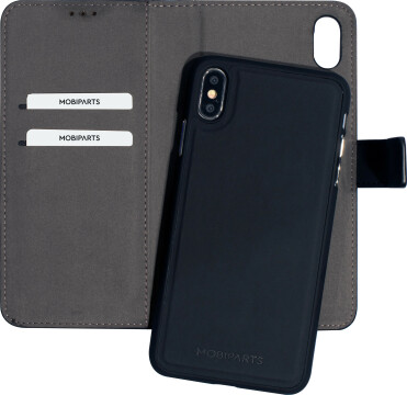 Mobiparts 2 in 1 Premium Wallet Case Apple iPhone XS Max Black