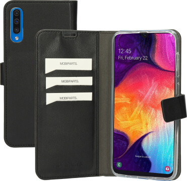 Mobiparts Classic Wallet Case Samsung Galaxy A50 (2019) Black